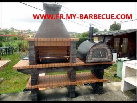 barbecue en pierre avec four pizza barbecue en pierre avec. Black Bedroom Furniture Sets. Home Design Ideas
