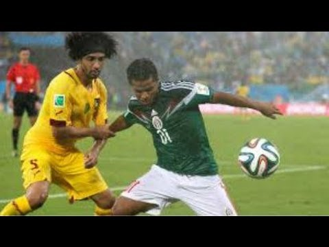 Mexico  Defeats Cameroon 1-0 - Goals: Peralta (61') World Cup 2014