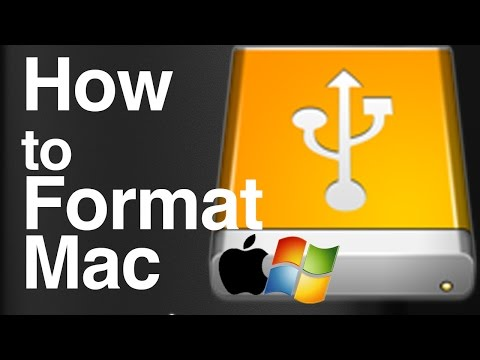 Guide: How to format an external hard drive to work with Mac and Pc