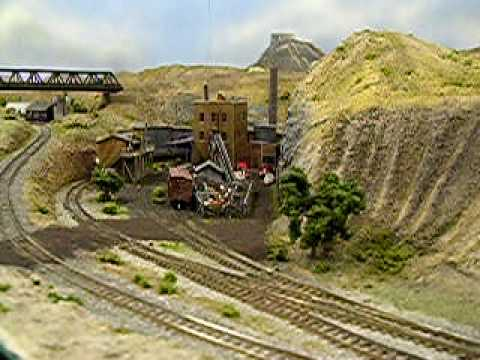 N Scale Layout , the ACTRR Video