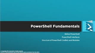 PowerShell Master Class - PowerShell Fundamentals