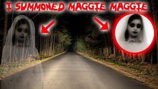 I SUMMONED MAGGIE MAGGIE ON THE HAUNTED MAGGIE BRIDGE AND THIS HAPPENED! | MOE SARGI