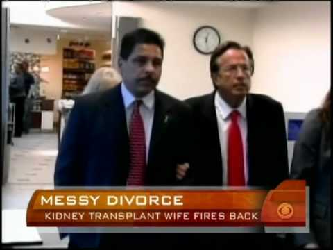 Wife Talks In Kidney Divorce