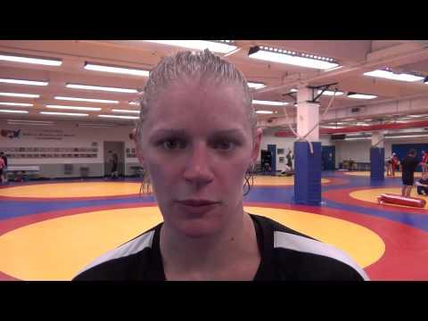Erin Clodgo at Women's World Team Camp at OTC