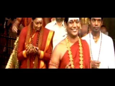 Nithyananda Ranjitha and Siddharth offered prayers at Tirumala...
