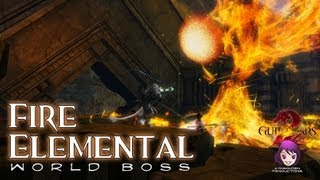 World Boss – Fire Elemental