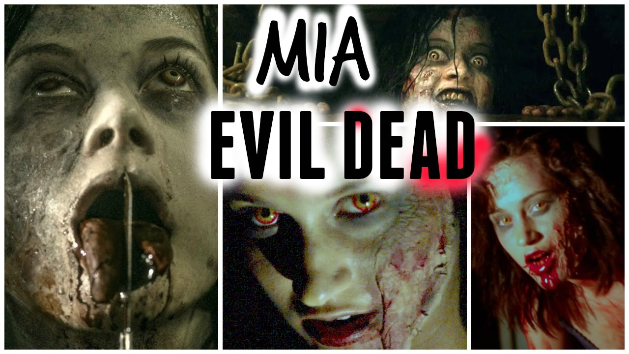 Mia Doing Makeup Mia | Evil Dead Makeup