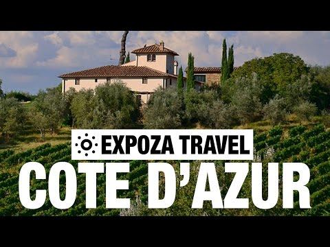 Côte D'Azur Vacation Travel Video Guide