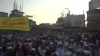 Protest against anti-Islamic bloggers: Hathajari_1