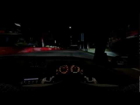 NFS Shift 2 Unleashed: Night Race | Helmet Cam