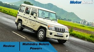 2016 Mahindra Bolero Power+ Review | MotorBeam
