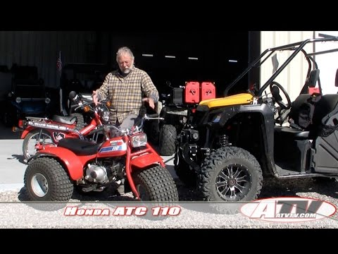 ATV Television Low & Slow Test - Honda ATC 110. The granddaddy of the ATV craze.