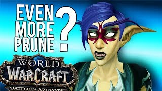 BFA Frost Update (Even Less Spells) - World of Warcraft: Battle For Azeroth (BETA)