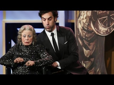 Sacha Baron Cohen Kills Award Presenter At The 2013 Britannia Awards - Bbc America video