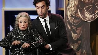 SACHA BARON COHEN Kills Award Presenter at the 2013 Britannia Awards
