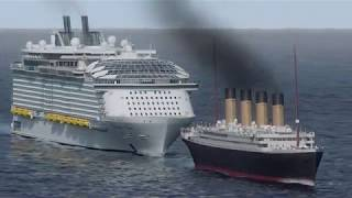 How Big is the Symphony of the Seas? | Mighty Cruise Ships