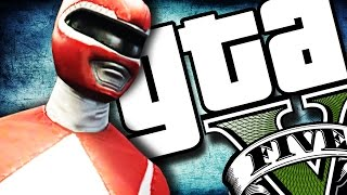 GTA V PC - Power Rangers GROSSO!