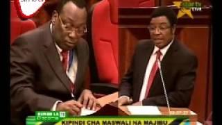 Mh Mbowe Amkalia Kooni Waziri Mkuu