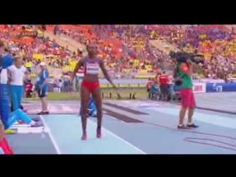 Clasificación Caterine Ibarguen Salto Triple Mundial de Atletismo Moscú 2013