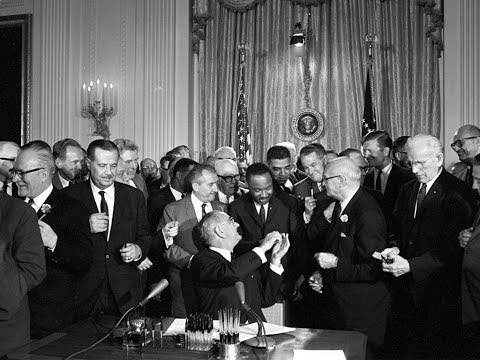 President Johnson's Remarks on the Signing of the Civil Rights Bill, 7/2/64