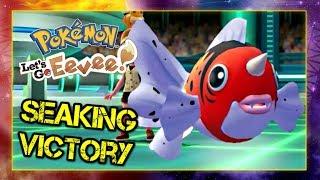 Pokemon Lets Go Pikachu and Eevee Singles Wifi Battle - Seaking Victory