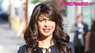 Priyanka Chopra Looks Stunning Greeting Fans & Signing Autographs At Jimmy Kimmel Live! 9.28.15