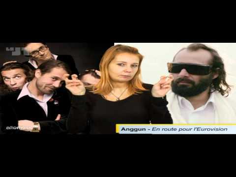 Anggun for France in Eurovision 2012 in Baku, Azerbaijan