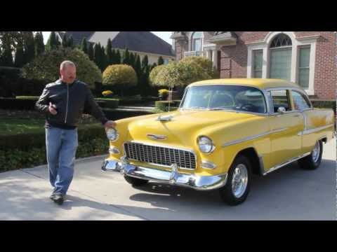 1955 Chevy Bel Air Classic Muscle Car for Sale in MI Vanguard Motor Sales