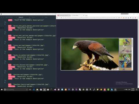 Photo Gallery  in JS - 2/2 | JavaScript Tutorials | Web Development Tutorials