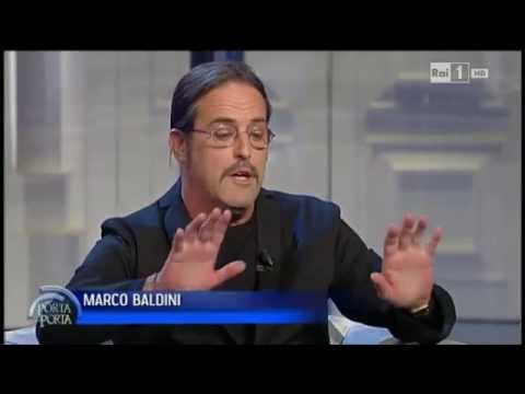 Marco Baldini spiega i motivi della separazione da Fiorello - Porta a porta 18/11/2014