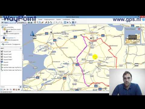 Starten met Garmin BaseCamp - tutorial - 03