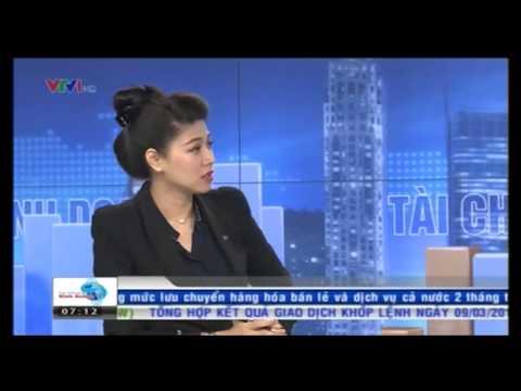 Bản tin tài chính kinh doanh VTV1 sáng ngày 10/3/2015 | bản tin tài chính