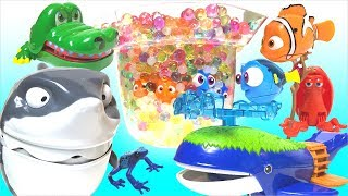 【Disney Pixar】Finding · Dolly Robo Fish Play Set Ania Whale Island