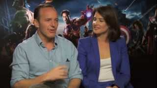 Clark Gregg And Cobie Smulders Interview -- Avengers Assemble | Empire Magazine