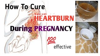How To Cure HEARTBURN During PREGNANCY NATURALLY And Easily Prevent ACID Reflux Too In URDU/HINDI
