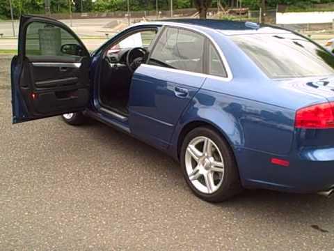 2006 Audi A4 2.0T Quattro Sedan *Leather*Moon Roof* Ron ...