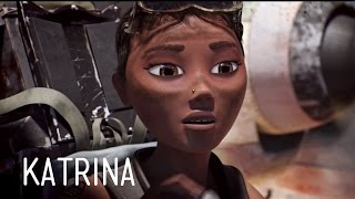 Animating Our Main Character, Katrina | The OceanMaker