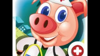 Dr. Pig`s Hospital - Android GamePlay - Доктор свинка лечит зверей.