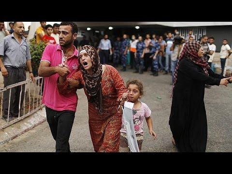 Israelishellingkillsatleast20inGazaneighbourhood