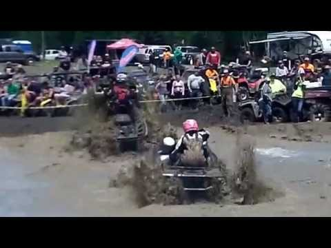 2014 High Lifter Quadna Mud Nationals Womens Class Races