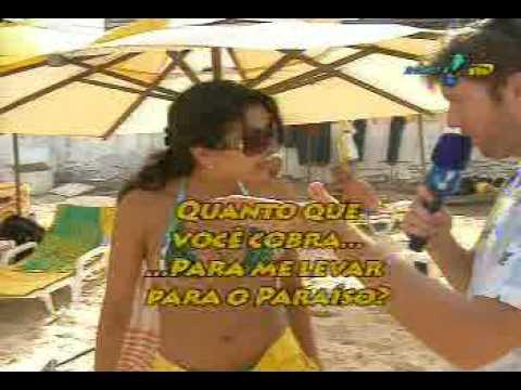 Beijo na boca ou tapa na cara - Panico na TV 14/12/08