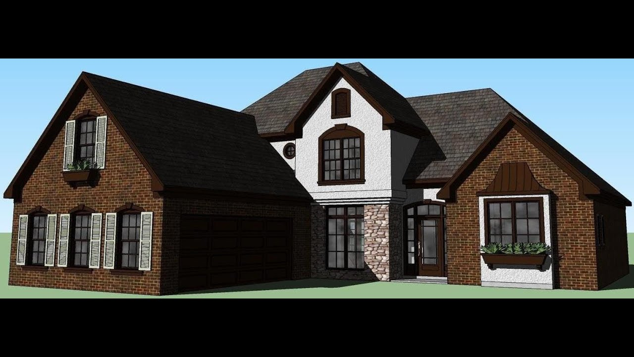 Sketchup house 7 my dream home youtube for Make my house
