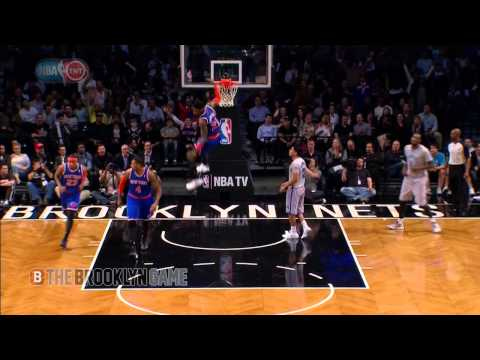 Iman Shumpert Soars for Alley Oop off Backboard