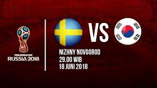 Jadwal Siaran Langsung dan Prediksi Line Up Laga Swedia Vs Korea Selatan