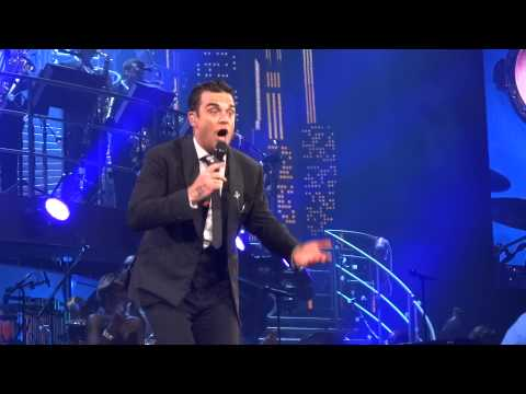 Robbie Williams - Empire State of Mind/New York - Melbourne Rod Laver Arena - 16th September 2014