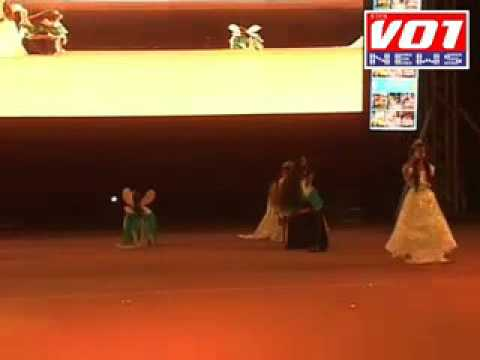 golden jubilee GHPS Celebrating at Jawaharlal Nehru Satadium 5 Feb 2016
