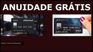 Cartão Mastercard Black e VISA infinite com anuidade grátis - Banco BANRISUL!!!