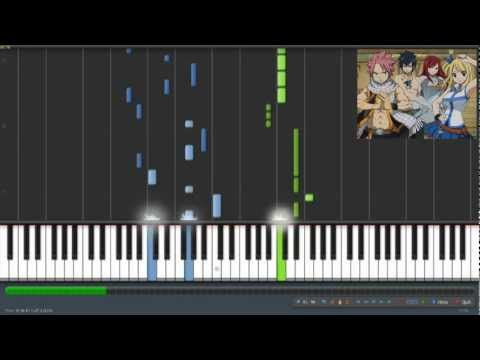 Fairy Tail Opening 3 - Ft. (synthesia) video