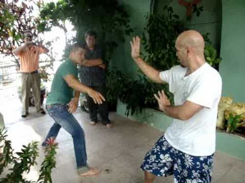 Sparring Wing Chun vs Pencasilat