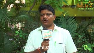 Srinivas At Thittivasal Movie Team Interview